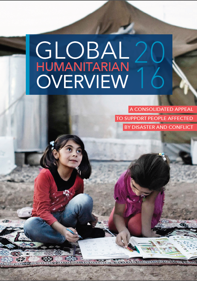 Global Humanitarian Overview 2016 - front cover
